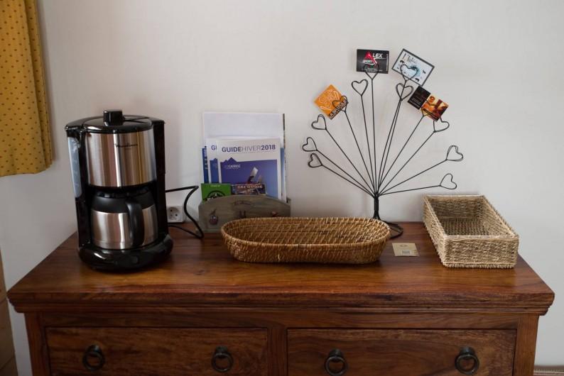 Location de vacances - Appartement à Les Carroz d'Arâches - séjour