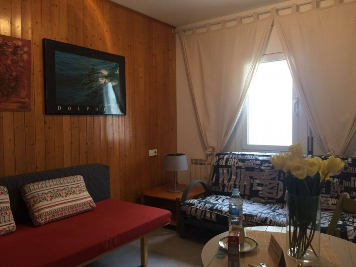 Location de vacances - Appartement à Vilanova i la Geltrú - salle à séjour