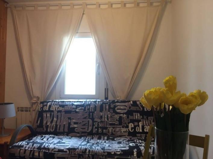 Location de vacances - Appartement à Vilanova i la Geltrú - lit clic-clac 1'30 x 1'90