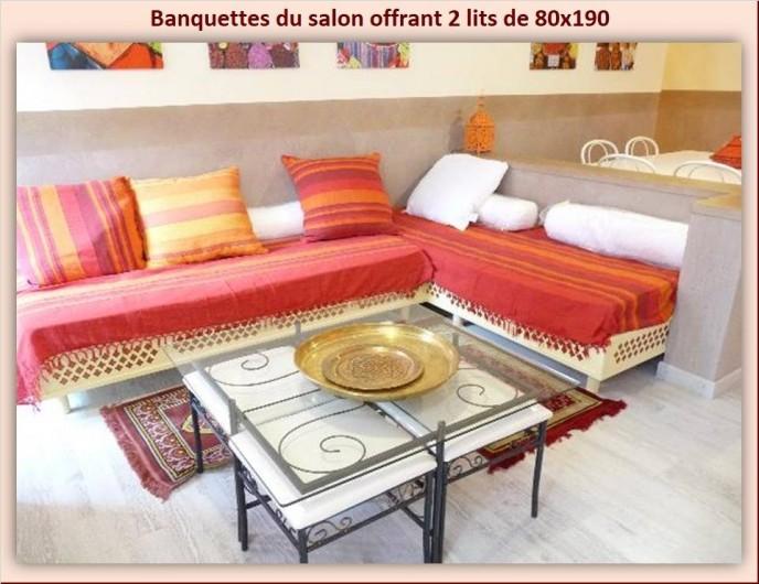 Location de vacances - Appartement à Eaux-Bonnes - Salon