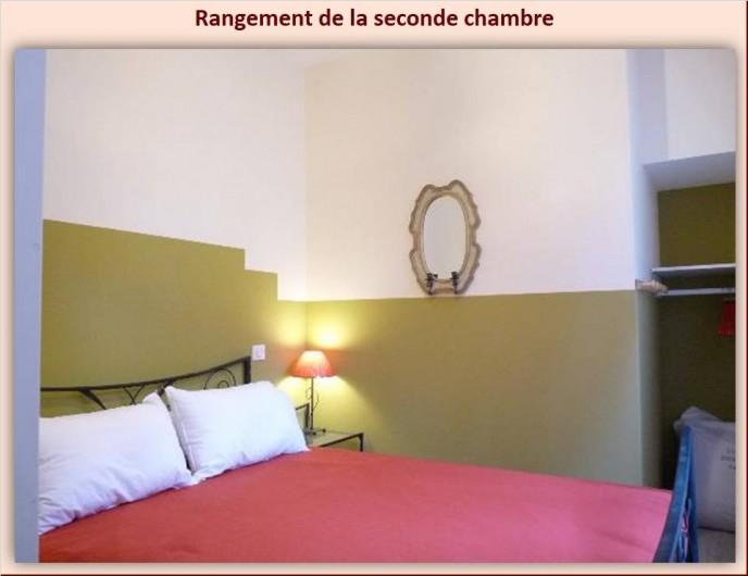 Location de vacances - Appartement à Eaux-Bonnes - Autre vue de la seconde chambre