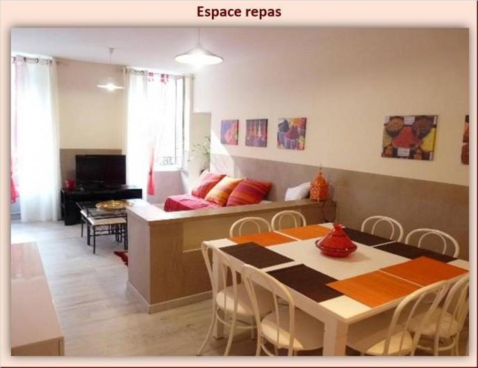 Location de vacances - Appartement à Eaux-Bonnes - Coin repas