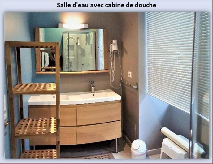 Location de vacances - Appartement à Eaux-Bonnes - Salle d'eau