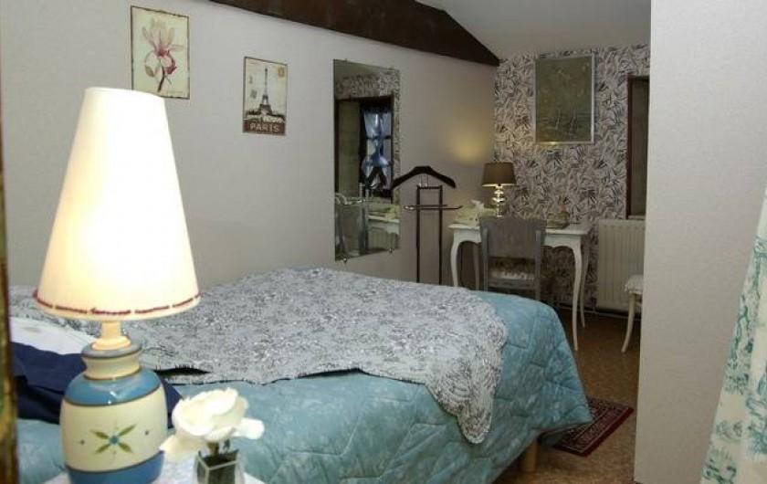 Location de vacances - Gîte à Lamothe-Landerron - Chambre Mata Hari
