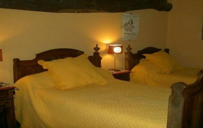Location de vacances - Gîte à Lamothe-Landerron - Chambre George Sand