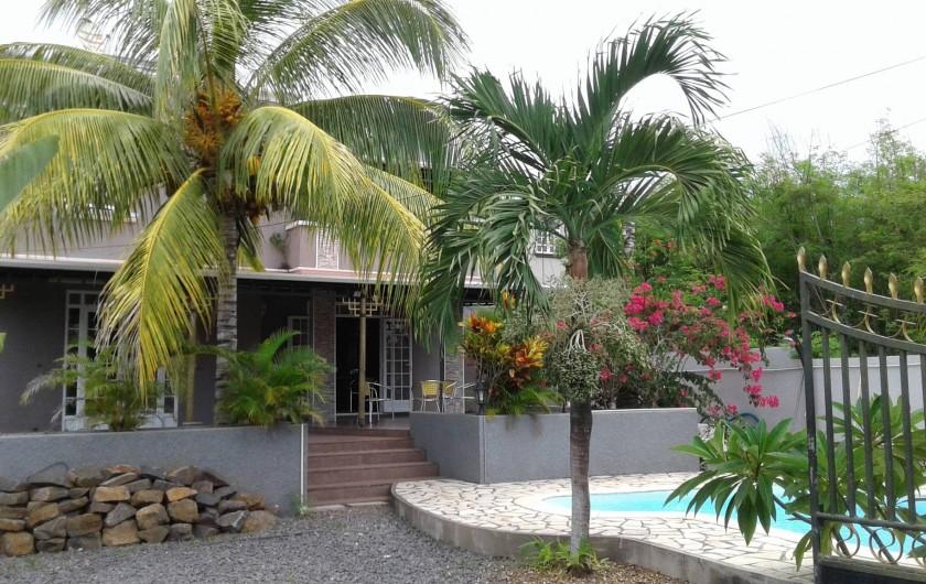 Location de vacances - Villa à Pereybere - vue ensemble