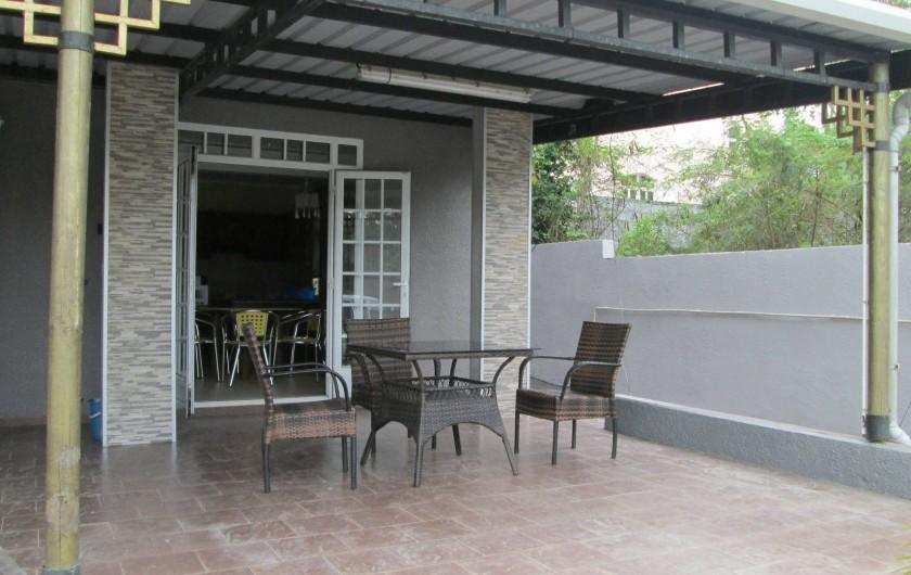 Location de vacances - Villa à Pereybere - terrasse