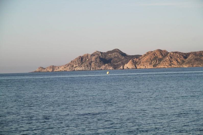 Location de vacances - Appartement à Belgodère - mer a Lozari