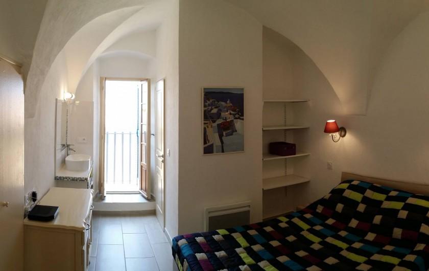 Location de vacances - Appartement à Belgodère - chambre