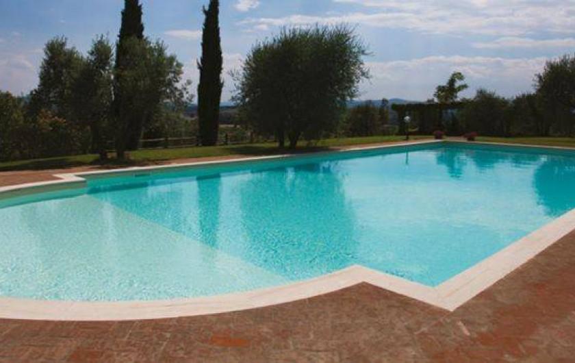 Location de vacances - Chambre d'hôtes à Arezzo - Piscine
