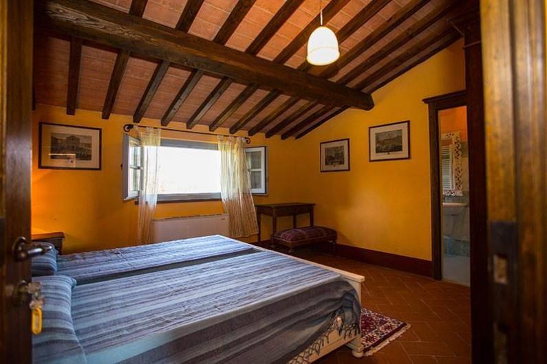 Location de vacances - Chambre d'hôtes à Arezzo - Chambre à duex lits