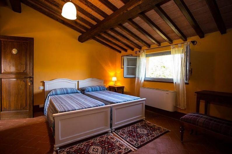 Location de vacances - Chambre d'hôtes à Arezzo - Chambre à deux lits