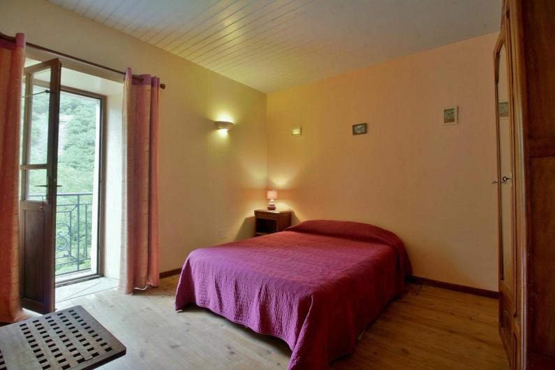 Location de vacances - Gîte à Gavarnie-Gèdre - Chambre 1 - lit double