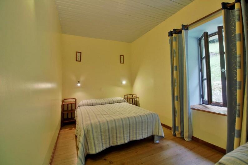 Location de vacances - Gîte à Gavarnie-Gèdre - Chambre 2 - lit double