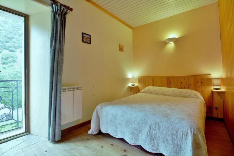 Location de vacances - Gîte à Gavarnie-Gèdre - Chambre 3 - lit double