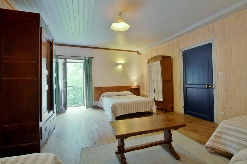 Location de vacances - Gîte à Gavarnie-Gèdre - Chambre 4 - lit double
