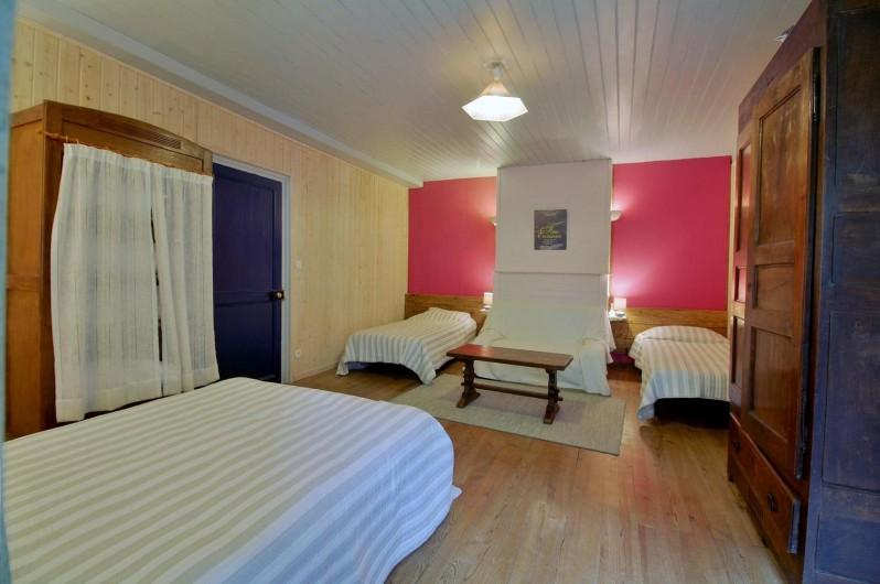 Location de vacances - Gîte à Gavarnie-Gèdre - Chambre 4 - lits simples
