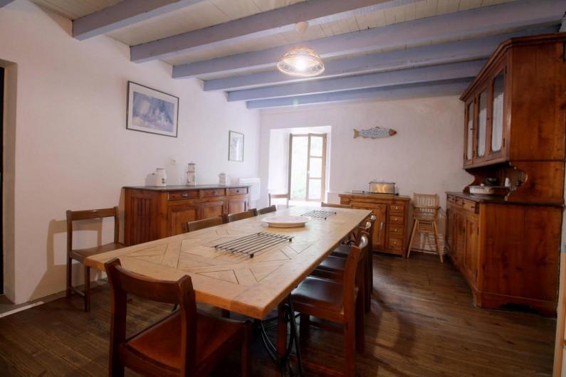 Location de vacances - Gîte à Gavarnie-Gèdre - Salle à manger