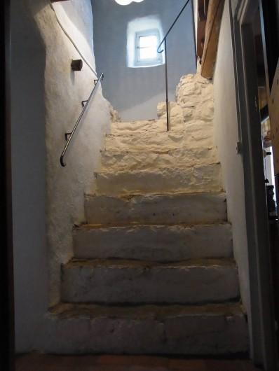 Location de vacances - Mas à Saint-Roman-de-Codières - Les escaliers