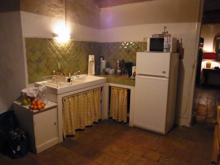 Location de vacances - Mas à Saint-Roman-de-Codières - La cuisine