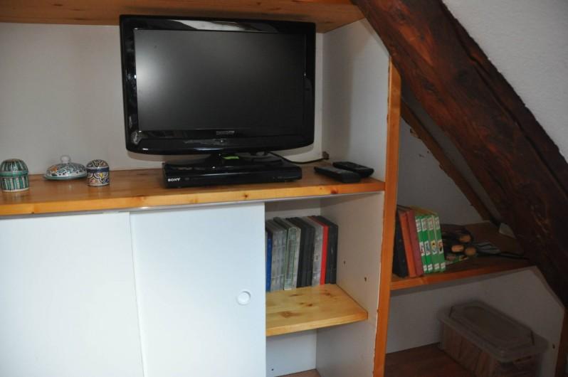 Location de vacances - Gîte à Grenoble - coin DVD, jeux, lecture