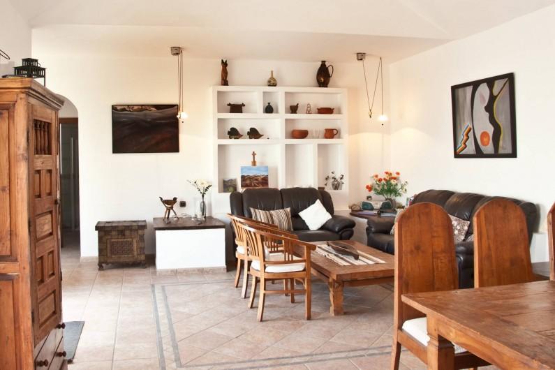 Location de vacances - Chalet à Costa Teguise - Salle de séjour