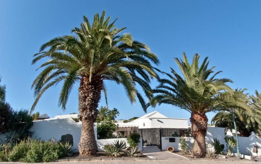 Location de vacances - Chalet à Costa Teguise - Entrée