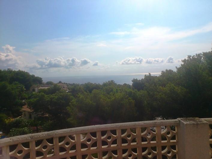 Location de vacances - Villa à Xàbia - vue de la tour