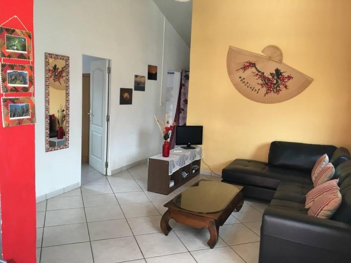 Location de vacances - Villa à Saint-Pierre - Salon
