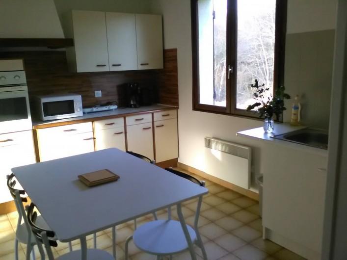 Location de vacances - Gîte à Bromont Lamothe - Cuisine