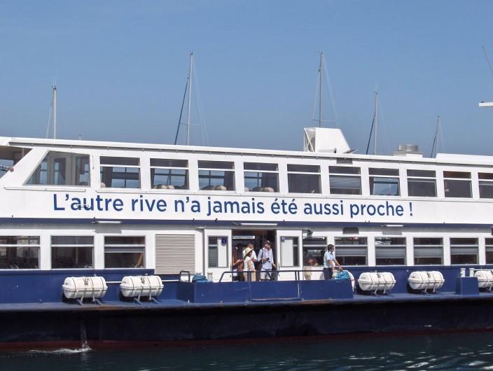 Location de vacances - Appartement à Samoëns - Traversée du Lac