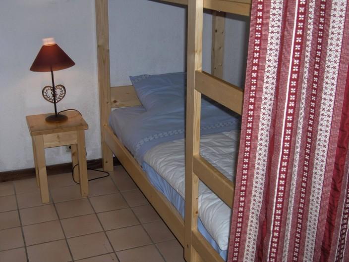 Location de vacances - Appartement à Samoëns - Coin montagne avec lits superposés