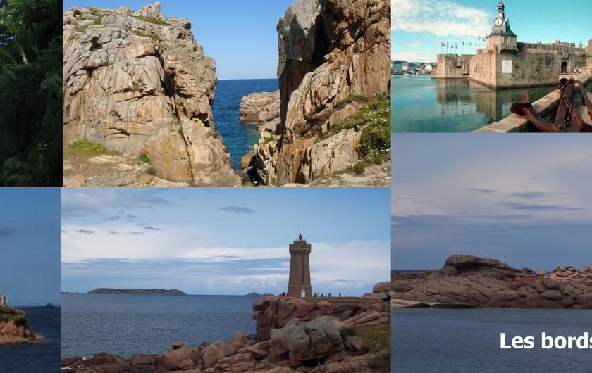 Location de vacances - Gîte à Locarn - Tous les bords de mer, Nord Sud ou Ouest à 1 h