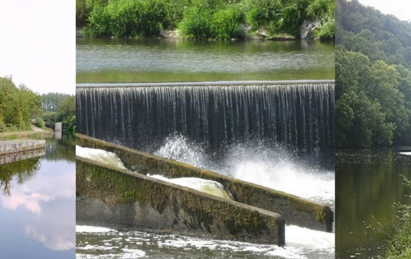 Location de vacances - Gîte à Locarn - Le Canal de Nantes à Brest