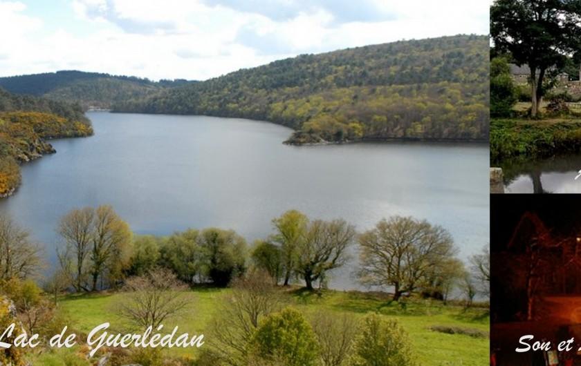 Location de vacances - Gîte à Locarn - Lac de Guerlédan, Abbaye de Bon Repos à 35 min