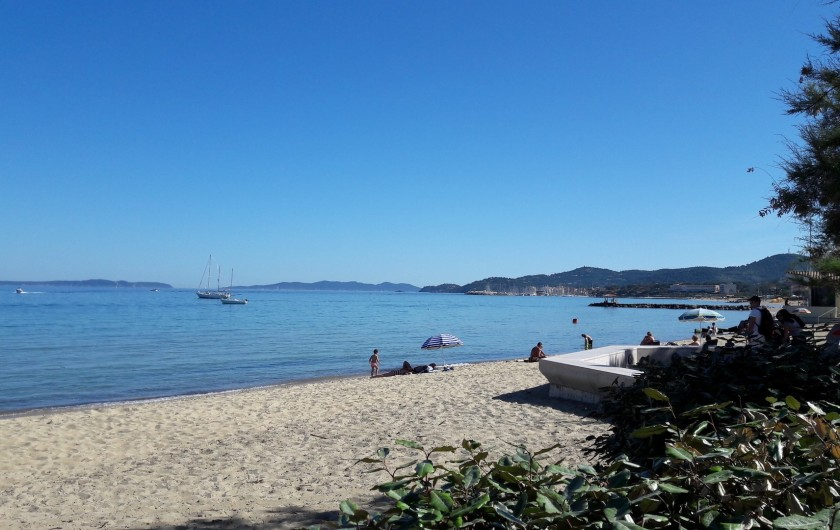 Location de vacances - Studio à Hyères - ...en se promenant plus loin sur la Presqu'île