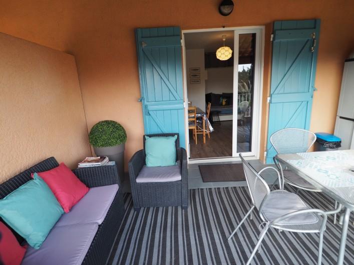 Location de vacances - Studio à Hyères - Terrasse