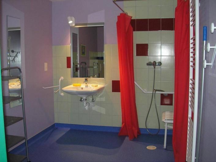 Location de vacances - Maison - Villa à Sainte-Marie-aux-Mines - une des sallesde bain