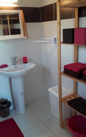 Location de vacances - Villa à Saint-François - Serviettes de toilette fournies