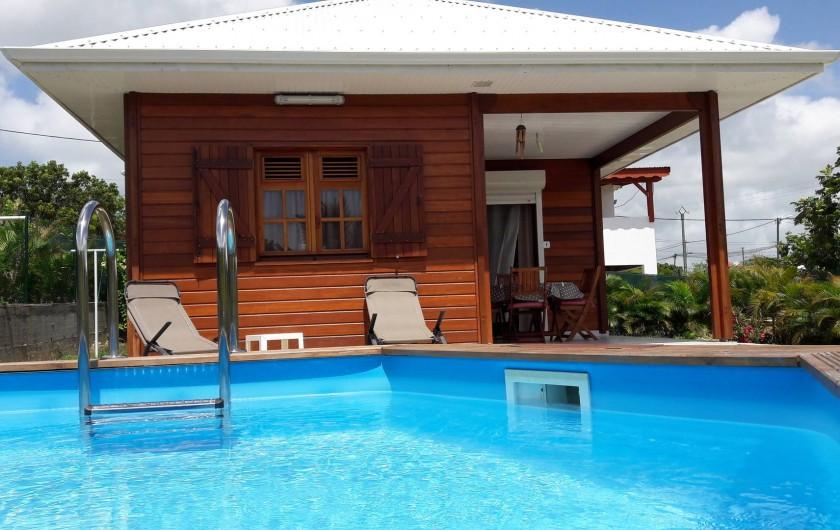 Location de vacances - Villa à Saint-François - Cannelle 41 m²