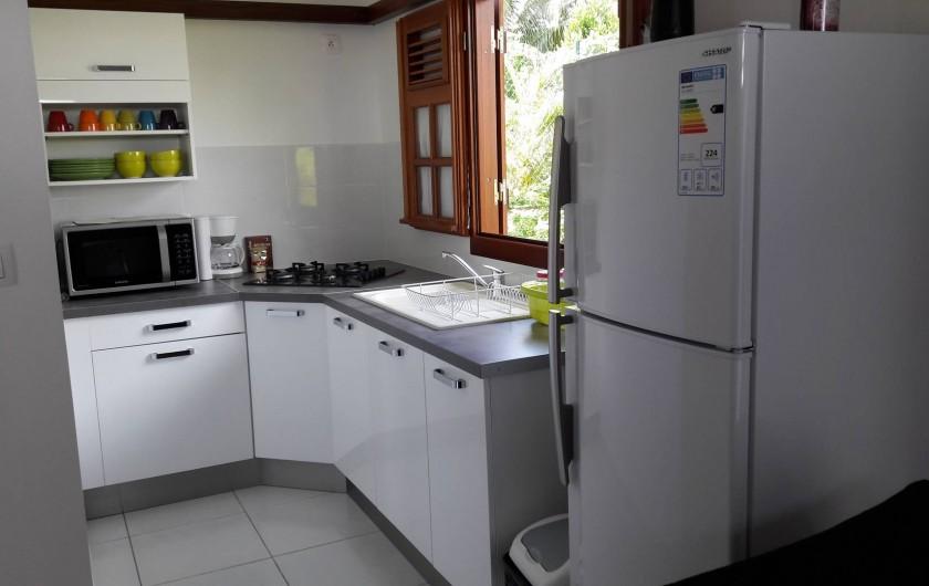 Location de vacances - Villa à Saint-François - Coin cuisine avec petit équipement ménager