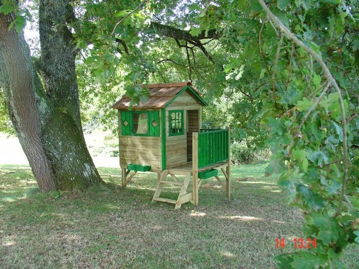 Location de vacances - Gîte à Hautefort - La cabane sous le grand chêne