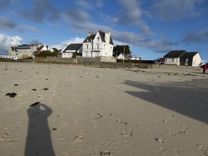 Location de vacances - Maison - Villa à Roscoff - Plage à proximité de la location