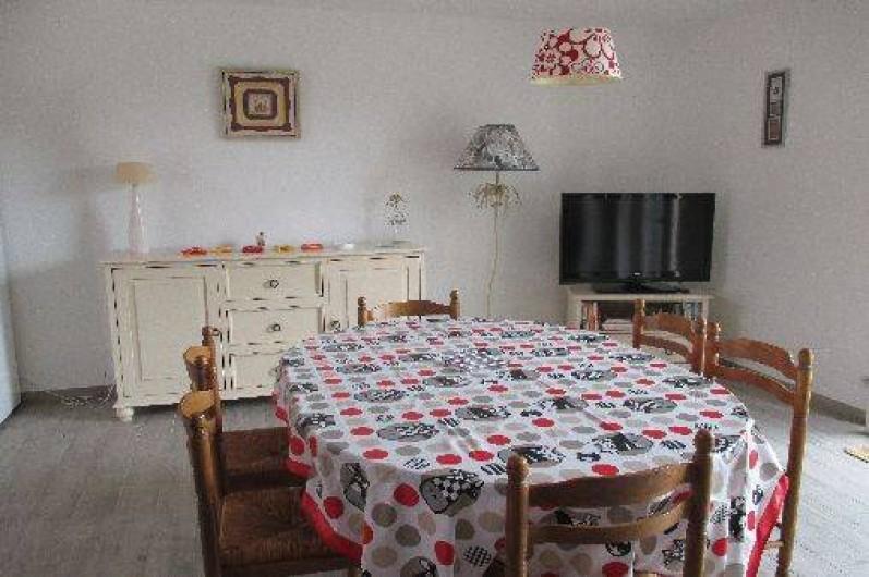 Location de vacances - Gîte à Mer - Coin salle à manger