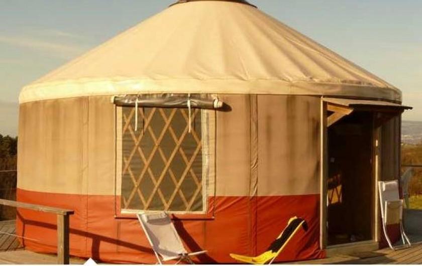 Location de vacances - Yourte à Saint-Gervais-Sous-Meymont