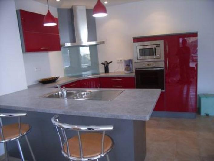 Location de vacances - Maison - Villa à Lanmeur - vue cuisine