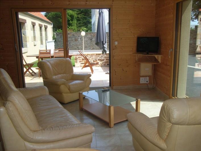 Location de vacances - Maison - Villa à Lanmeur - coin salon