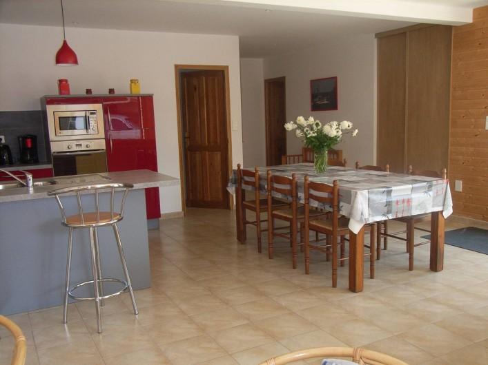 Location de vacances - Maison - Villa à Lanmeur - vue salle à manger