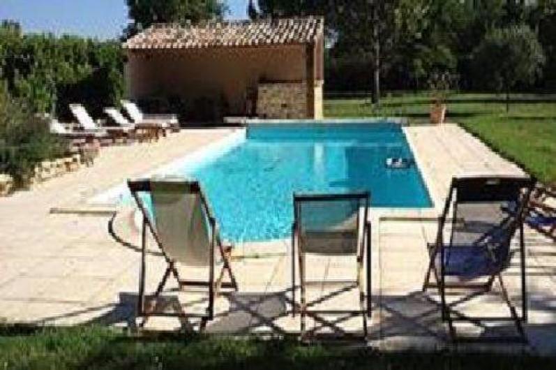 Mas proven al de charme avec piscine pool house et terrain arbor et ensolei - Pool house provencal ...