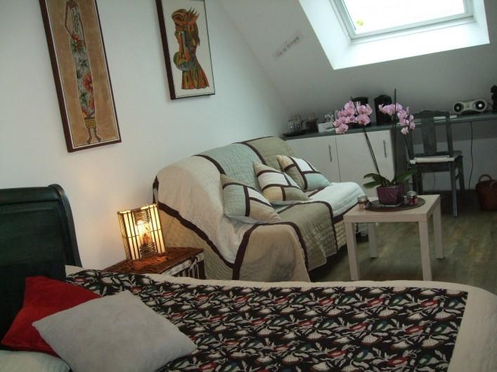 Location de vacances - Villa à Tourlaville - SUITE PARENTALE
